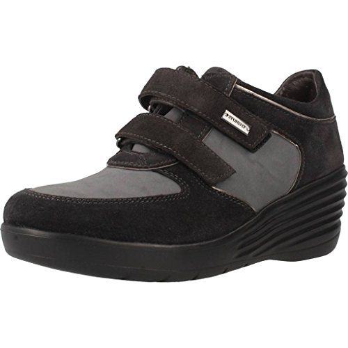 Derbys, couleur Noir , marque STONEFLY, modèle Derbys STONEFLY EBONY 3 Noir Noir