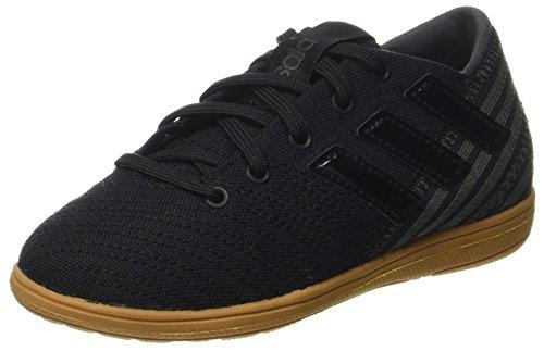 adidas Jungen Nemeziz 17.4 IN Sala Fußballschuhe, Schwarz Core Utility Black, 29 EU - Adidas-fußball-schuhe-indoor