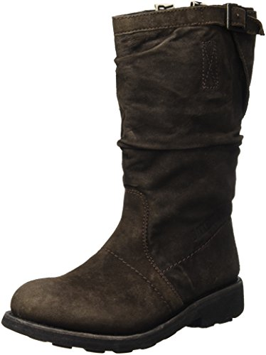 Bikkembergs Vintage 254 Mid Boot W Suede, Scarpe a Collo Alto Donna, Marrone (Dark Brown), 40 EU