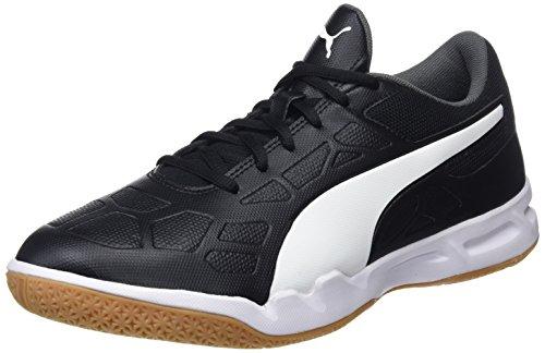 Puma Unisex-Erwachsene Tenaz Multisport Indoor Schuhe, Schwarz (Puma Black-Puma White-Iron Gate-Gum), 43 EU