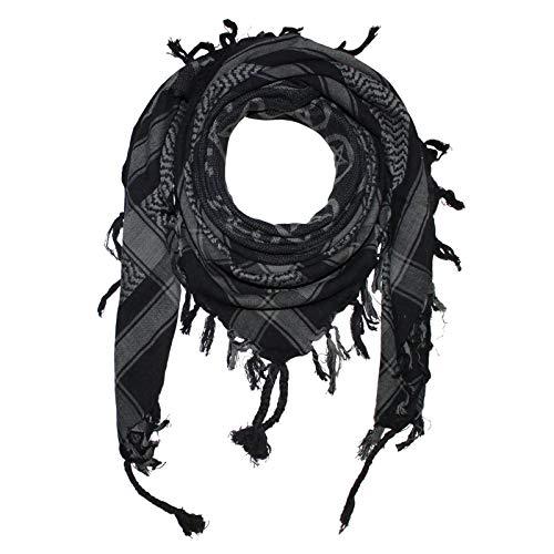 Superfreak Palituch - Pentagramm schwarz - grau - 100x100 cm - Pali Palästinenser Arafat Tuch - 100{77a41921e1a742da7aa88de33fc5fe6e02f90097deecf993c956ec8c5e61c5f9} Baumwolle