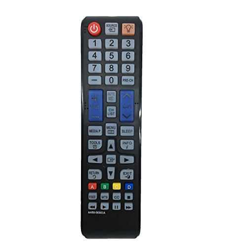 New Replaced Samsung Remote AA59-00600A AA5900600A for UN32EH4000 UN46EH6000F UN55EH6000