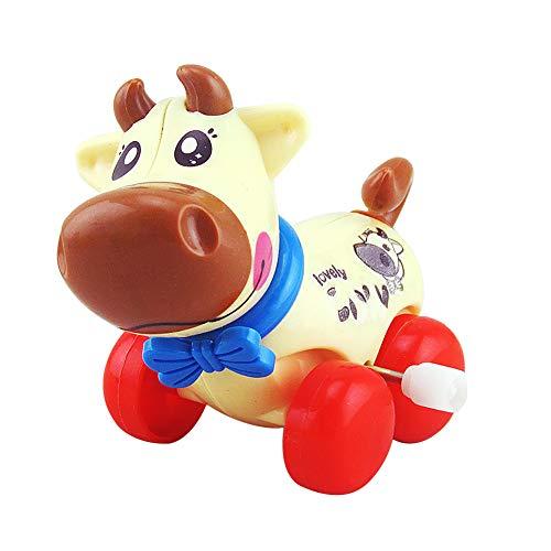 rwerk Wind-Up Lauf Spielzeug, Assorted Cartoon Kalb, reizende Tier-Spielzeug, Geschenke, Partei-Bevorzugungen für Kinder, Babys, Jungen, Mädchen ()