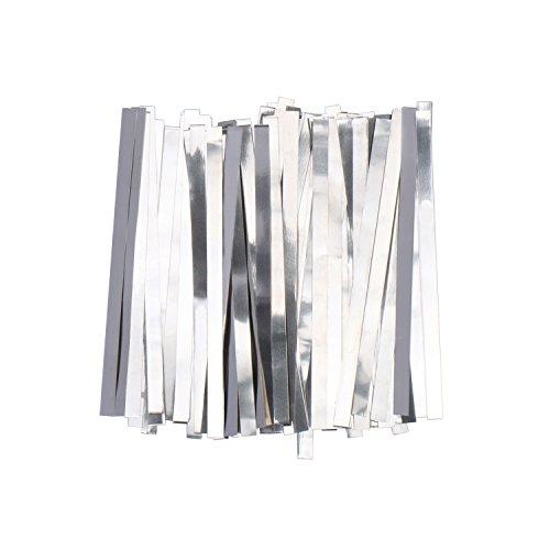 U.S. Solid Streifen aus reinem Nickel, 0.1x5x100mm 99,6% Nickel für 18650 Löt-Anschluss für Lithium-Hochleistungsbatterie, Li-Po Akku, NiMH und NiCd Akku und Punktschweißen, 100 Count