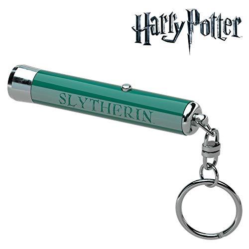 Projektor mit Slytherin-Schlüsselanänger – Harry Potter – Projiziert das Slytherin-Wappen auf flachen – TRIBE TOR13701
