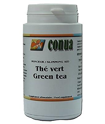 Thé vert 100% nature 120 gélules minceur, thé vierge, obésité surcharge pondérale, fatigue, régime amincissant et detox gélules en poudre extrait