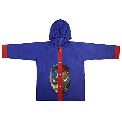 Disney -  giacca impermeabile  - ragazzo blu 4 anni
