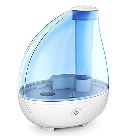 T&B Cool Mist Humidifier + Night Light - Aromatherapy Ultrasonic