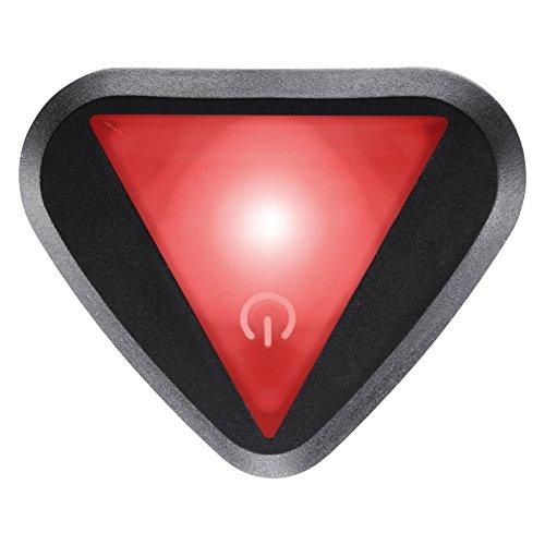 Uvex Plug-in LED XB047 stivo/stiva Fahrradhelm Beleuchtung, red/Black, One Size