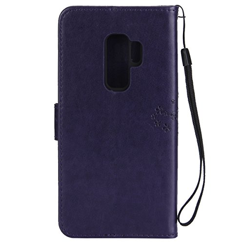 custodia samsung galaxy s9plus libro gufo