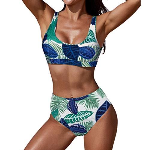 392409b3e412 Poachers bañadores de Mujer Natacion 2 Piezas sujecion Traje de baño Mujer  Cintura Alta Bikinis Mujer 2019 Push up Tanga Traje de baño Mujer Sexy ...