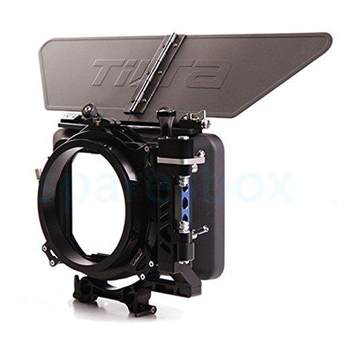 Tilta MB-T05 Lightweight Matte Box cámaras Caja mate Sunshade Rig For BMPCC BMPC BMCC 4K Canon 1DX 5D III 7D 70D Nikon D800 D810 D750 D8000 Panasonic GH3 GH4 SONY Alpha A7S A7R A7S2 A7R Mark II MK2 PXW-FS7 FS5 Camera for Tilta ES-T07 ES-T15 ES-T16 ES-T17 ES-T17A Cage
