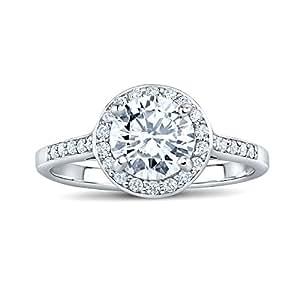 SILVEGO Anello di fidanzamento SKYE in argento con Swarovski® Zircone (11)