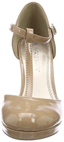 Marco Tozzi 24416, Scarpe con Chiusura a T Donna Rosa (Candy Patent)