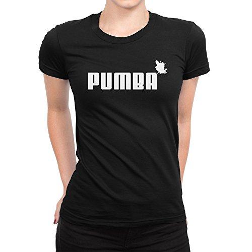 Puma Inspired Funny Lion King Character Pumba Damen T-shirt XXL (Ringspun-baseball-t-shirt)