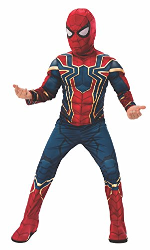 Rubie's Offizielles Avengers Infinity Wars Iron Spider, Spiderman Deluxe Kinderkostüm