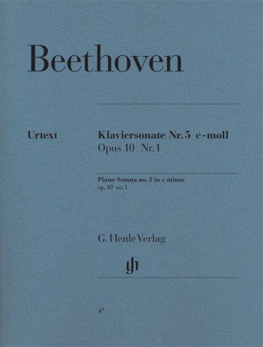 Sonate n°5 opus 10 n° 1 en do mineur p...
