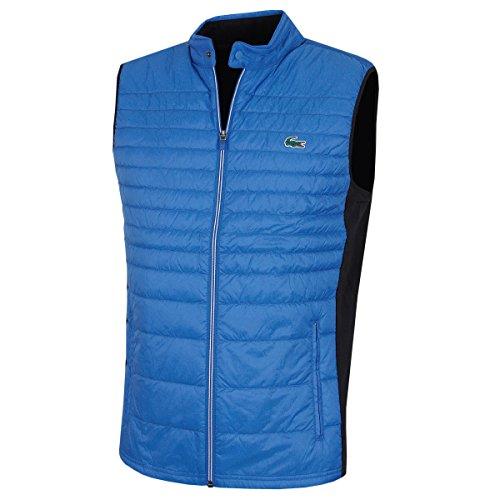 Lacoste Herren BH9536 Gesteppte Technische Golf Weste - R.Blau - Size 54 - XL (Full-zip Lacoste)