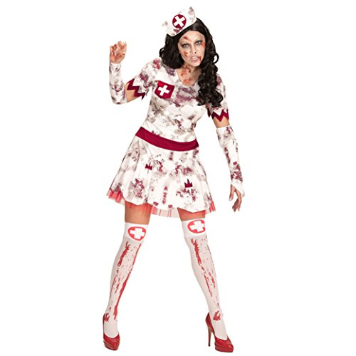 Widmann 07502 Erwachsenen Kostüm Zombie Krankenschwester, M