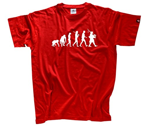 Standard Edition Dudelsack Evolution T-Shirt Rot XXL