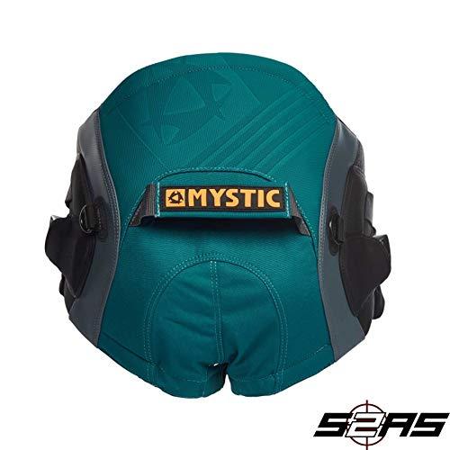 Mystic Watersports - Surf Kitesurfen & Windsurfen Aviator Seat Harness Teal - Unisex - Doppelte Power-Leinenringe