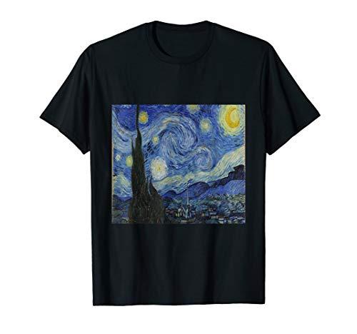 Sternennacht  t Shirt, Sternennacht Vincent Van Gogh Kunst T-Shirt