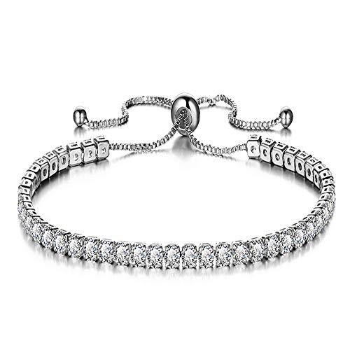 unde Einstellbar Damen Armband Armkette Armspange Damen Schmuck,Silber ()