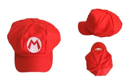 ValuePack - Cappello per Costume da Super Mario Bros, Colore: Rosso