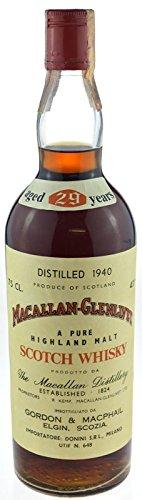 Macallan-Glenlivet Jahrgang 1940 - 29 Jahre alt