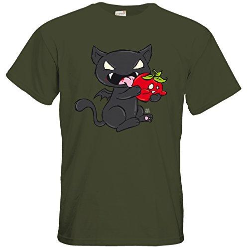 getshirts - Crapwaer - T-Shirt - Vampcat Khaki