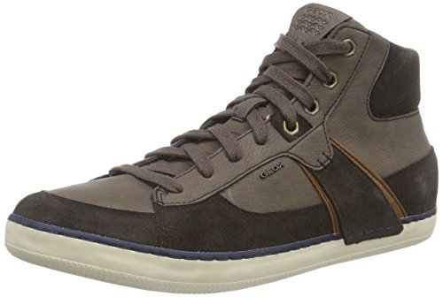 Geox U BOX B Herren Hohe Sneakers Braun (C6009COFFEE)