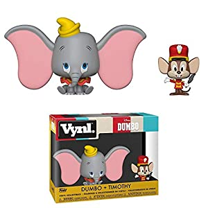 "Funko 37014 VYNL 4"" 2-Pack Dumbo & Timothy, Multi"