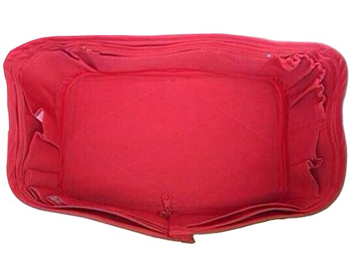 CHACREYAS BAG ORGANIZER BASE FITS FOR SPEEDY 40 RED COLOR (Shaper Base Speedy)