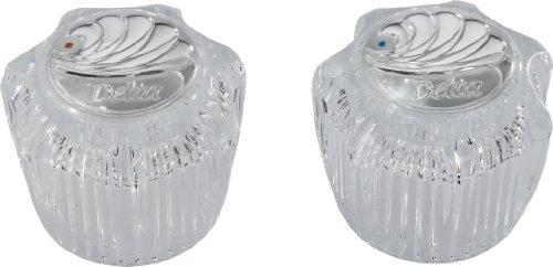 Delta Wasserhahn Ersatz Kn-pfe, Kn-pfe und Schrauben f-r 2 Griff Armaturen RP23498