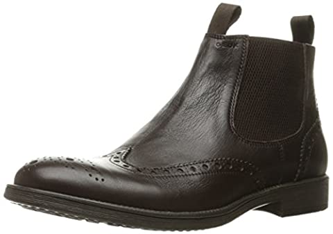 Geox Herren U Jaylon B Chelsea Boots, Braun (COFFEEC6009), 42 EU