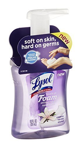 lysol-touch-of-foam-creamy-vanilla-orchid-antibacterial-hand-wash-85-fz-pack-of-6-by-lysol