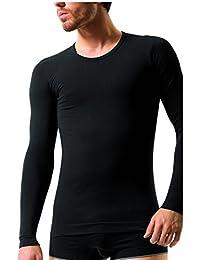 BRUBECK® 2x LS01120 COMFORT COTTON Herren Shirt | Trikot | Lang | Klassisch | Fein | Nahtlos | PerfectFit | Körperbetont