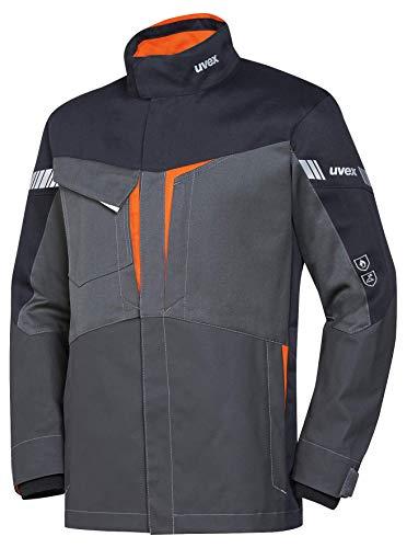Uvex Protection Metal 8933 - Graue Sicherheitsjacke für Herren - Gr S