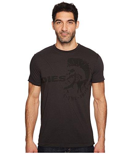 Diesel Herren T-Ulee T-Shirt, Schwarz (900 Black 0JAIL), Medium -