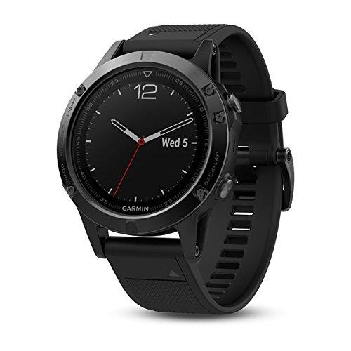 Garmin Fenix 5 Sapphire GPS Multisport Smartwatch Black 010-01688-11