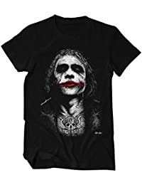 Joker Zeichnung, tätowiert T-Shirt