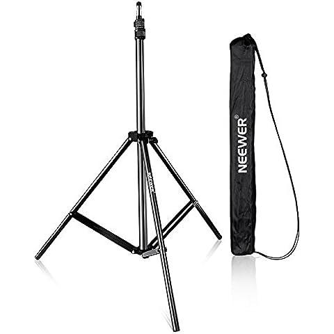 Neewer® 210cm Cavalletto Stativo di Lampada per Studio Fotografico per