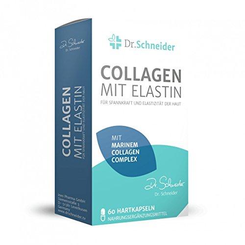Dr. Schneider Collagen mit Elastin für Spannkraft und Elastizität der Haut - bekannt aus dem deutschen TV -