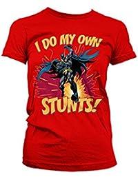 Officiellement Marchandises Sous Licence Batman - I Do My Own Stunts Femme Tee