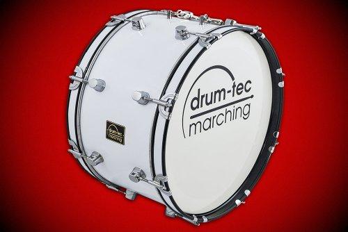 """Junior Marching Bass Drum / Fan-Trommel / große Trommel / Pauke Größe 18"""" x 10"""" (45cm x 25cm) Nur 4,6KG (Modell: MBC-18B)"""