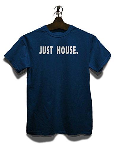 Just House T-Shirt Navy Blau