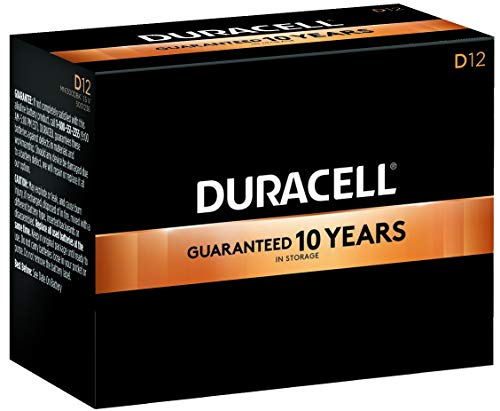 Duracell® - Coppertop Alkaline Batteries, D, 12/Pack - Sold As 1 Pack - Features DuraLock Power PreserveTM technology.