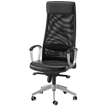 ikea office chairs canada. Ikea MARKUS - Swivel Chair, Black Ikea Office Chairs Canada Amazon UK
