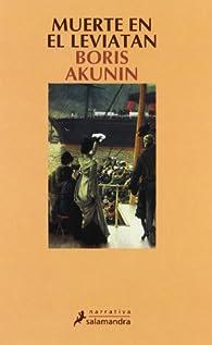Muerte En el Leviatan par Boris Akunin