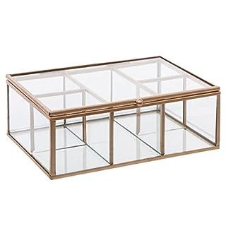AC-Déco 'Schmuckkästchen Mood-20x 14x 7cm-Glas-Transparent